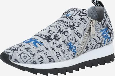 DKNY Baskets basses 'Azza' en bleu / gris / noir, Vue avec produit