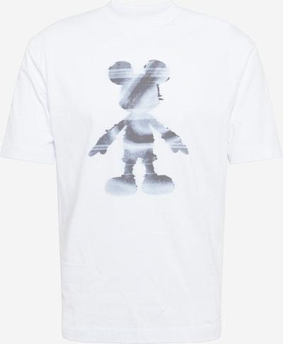 River Island Shirt 'Micky' in hellblau / grau / weiß, Produktansicht