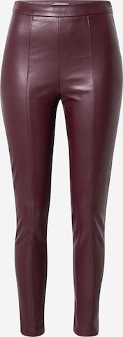 VILA Leggings 'SYBILLE' i rød