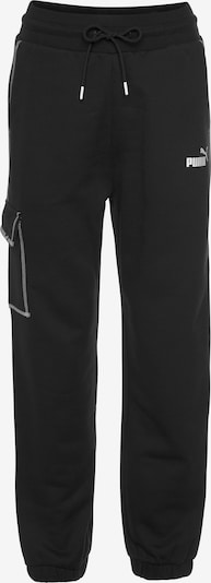 PUMA Παντελόνι φόρμας σε μαύρο / λευκό, Άποψη προϊόντος