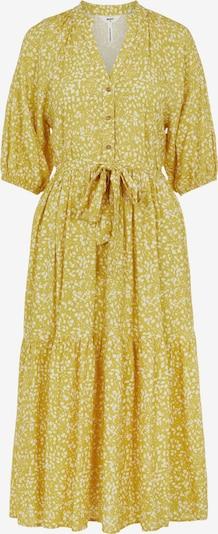 OBJECT Kleid 'Hessa' in beige / gelb / weiß, Produktansicht