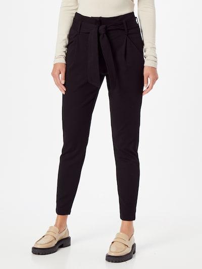 VERO MODA Kalhoty se sklady v pase 'BAILEY' - černá, Model/ka
