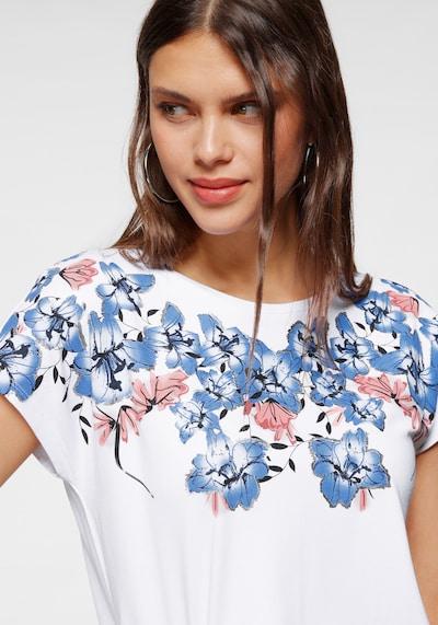 LAURA SCOTT Shirt in blau / pink / weiß, Produktansicht