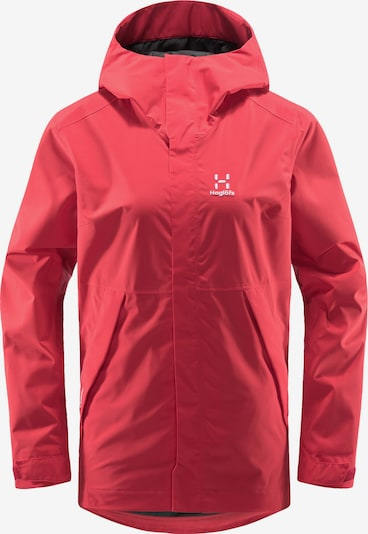 Haglöfs Outdoorjas 'Tjärn' in de kleur Pink / Wit, Productweergave