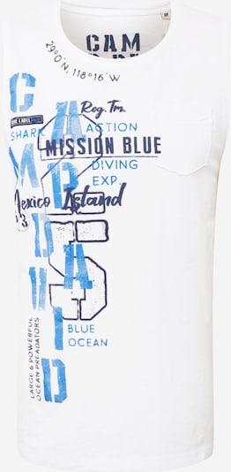 CAMP DAVID Tričko - námornícka modrá / kráľovská modrá / biela, Produkt