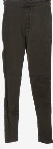 Missguided High Waist Jeans in 27-28 in Grün