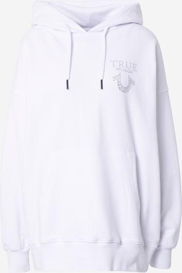 True Religion Sweat-shirt en blanc, Vue avec produit