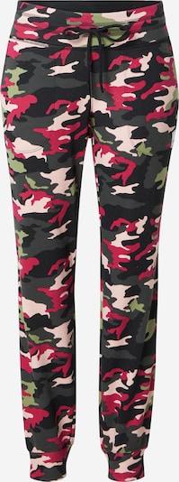 DKNY Performance Pantalon en crème / gris foncé / vert clair / pitaya / noir, Vue avec produit