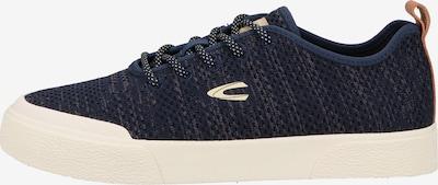 CAMEL ACTIVE Sneaker in creme / navy / rostbraun, Produktansicht