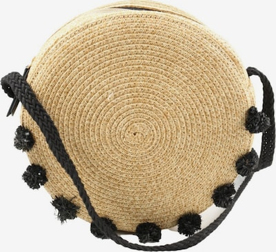 Stella & Dot Korbtasche in One Size in creme / schwarz, Produktansicht