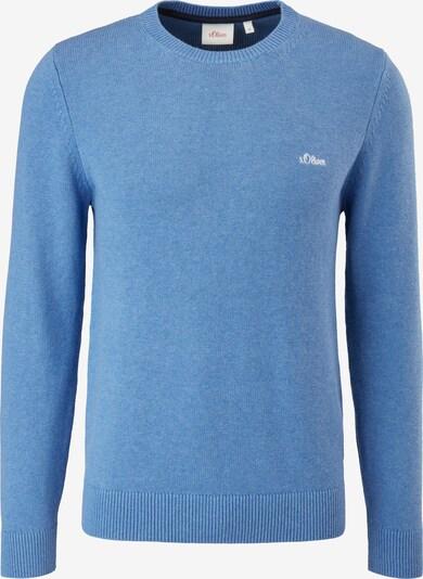 s.Oliver Pullover in mottled blue, Item view