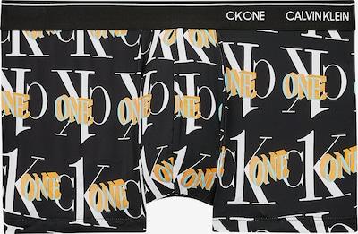 Boxeri Calvin Klein Underwear pe turcoaz / portocaliu / negru / alb, Vizualizare produs