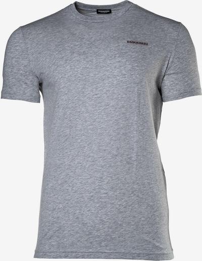 DSQUARED2  T-Shirt in grau / schwarz, Produktansicht