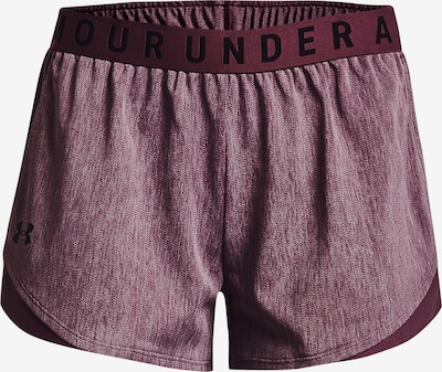 UNDER ARMOUR Workout Pants 'Play Up' in Berry, Item view