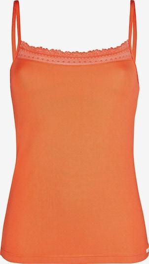 Skiny Skiny Damen Spaghettishirt Ritual Sleep in orange: Frontalansicht