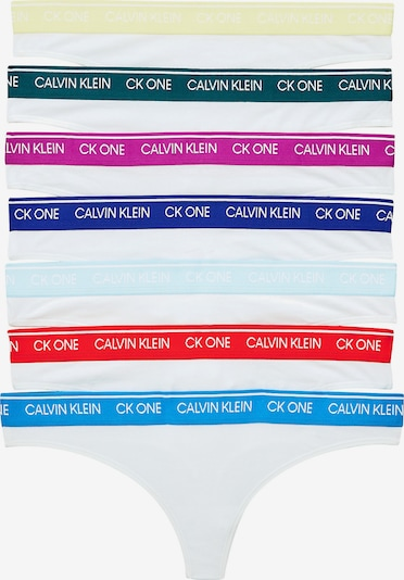 vegyes színek / fehér Calvin Klein Underwear String bugyik, Termék nézet