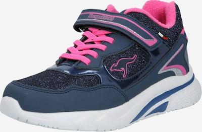 KangaROOS Sneaker 'Daisy' in dunkelblau / pink, Produktansicht