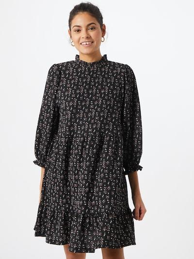 ONLY Kleid 'Naya' in pink / schwarz / weiß, Modelansicht