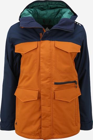 BURTON Sport-Jacke in dunkelblau / orange, Produktansicht