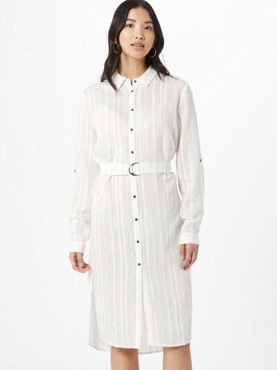 SISTERS POINT Košulja haljina 'Varda' u bijela: Prednji pogled