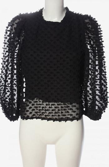 Vera & Lucy Langarm-Bluse in S in schwarz, Produktansicht