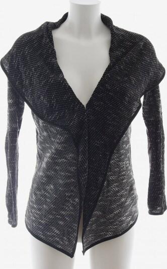 UNBEKANNT Cardigan in S in schwarz / weiß, Produktansicht