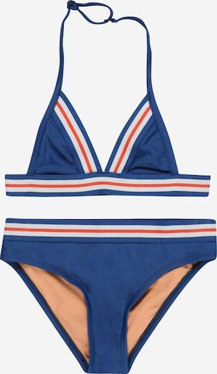 Brunotti Kids Bikini 'Awan' u kraljevsko plava / narančasto crvena / bijela, Pregled proizvoda