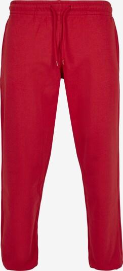 Urban Classics Pantalon en rouge, Vue avec produit