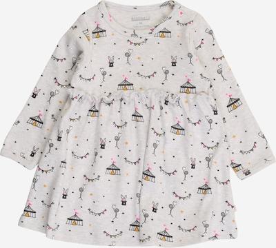 STACCATO Kleid in goldgelb / grau / hellpink / schwarz / weißmeliert, Produktansicht