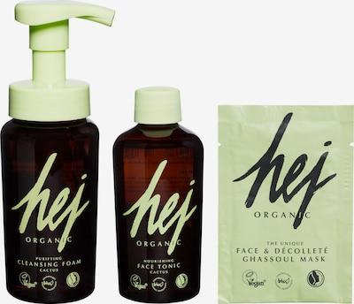 HEJ ORGANIC Gesichtspflege-Set 'Cactus' in apfel / schwarz, Produktansicht
