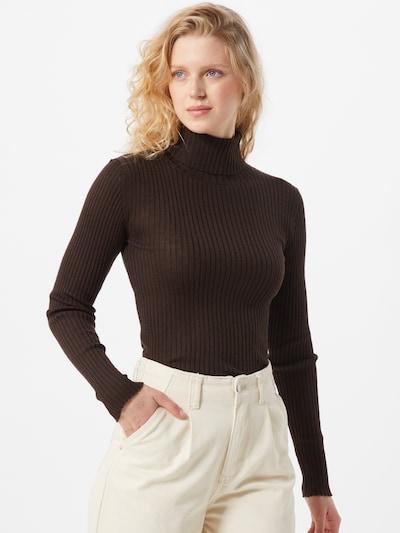 SELECTED FEMME Pullover in dunkelbraun, Modelansicht