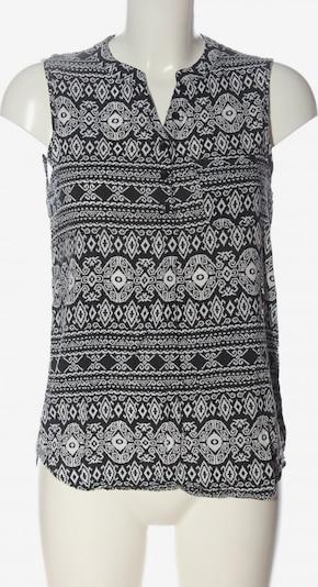 ONLY Hemd-Bluse in M in schwarz / weiß, Produktansicht