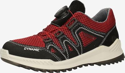 RICOSTA Sneaker in rot / schwarz, Produktansicht