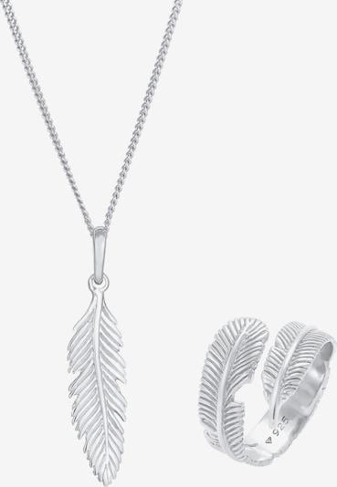 ELLI Parure de bijoux en argent, Vue avec produit