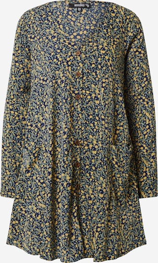 Missguided Sukienka w kolorze granatowy / żółty / zielonym: Widok z przodu