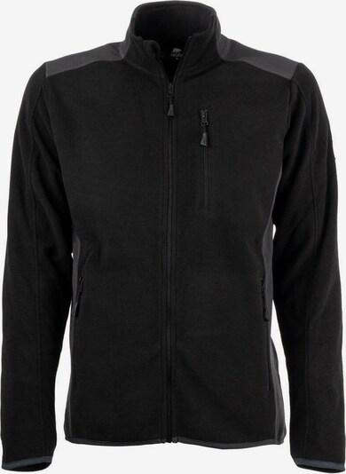 FORSBERG Fleecejacke 'Brodir III' in grau / schwarz, Produktansicht