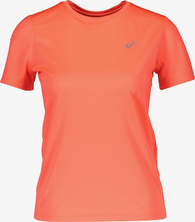 ASICS T-Shirt in grau / orange, Produktansicht
