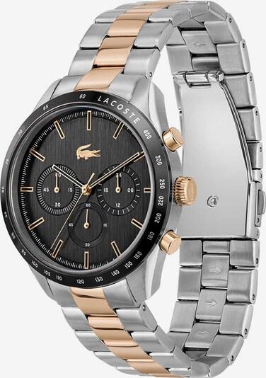 LACOSTE Uhr in gold / schwarz / silber, Produktansicht