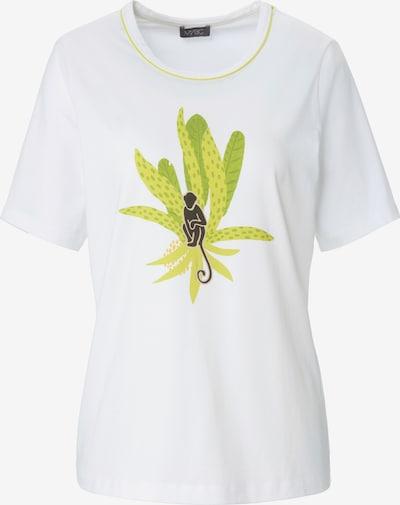 MYBC Shirt in grün / weiß, Produktansicht