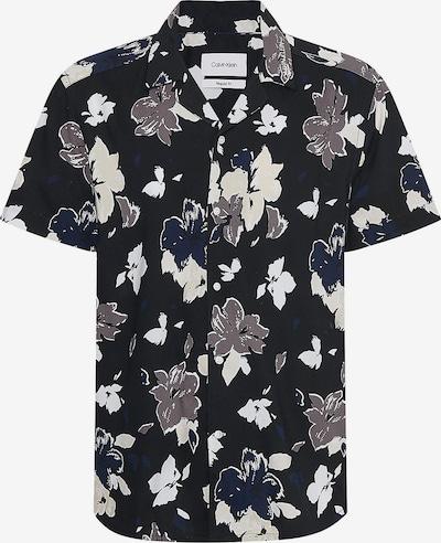 Calvin Klein Krekls jūraszils / melns / balts / olas čaumalas, Preces skats