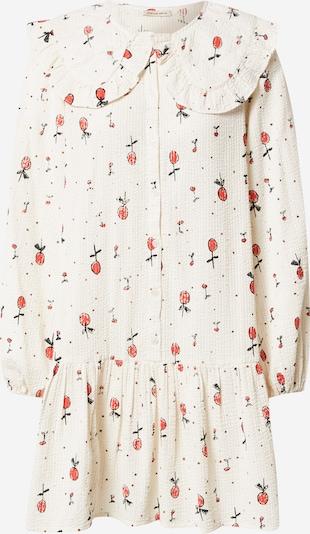 Rochie tip bluză 'Sassimay' Stella Nova pe roșu / negru / alb, Vizualizare produs