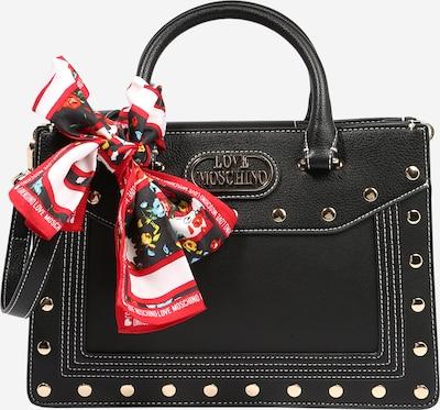 Love Moschino Ručna torbica u crna: Prednji pogled