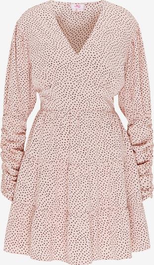 MYMO Kleid in hellbraun / pink, Produktansicht