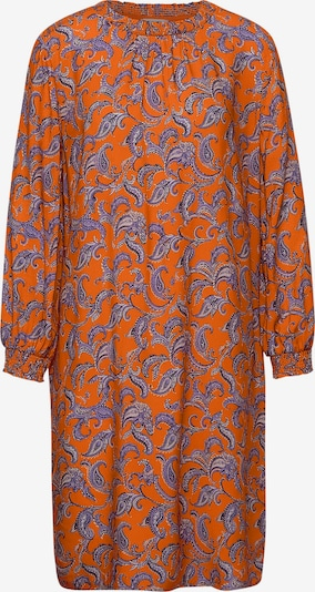 STREET ONE Kleid in lila / orange / schwarz / weiß, Produktansicht