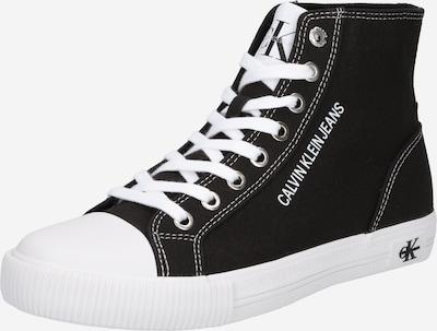Calvin Klein Jeans Korkeavartiset tennarit värissä musta / valkoinen, Tuotenäkymä