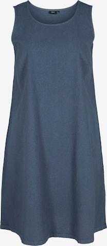 Zizzi Zomerjurk 'Jeasy' in Blauw