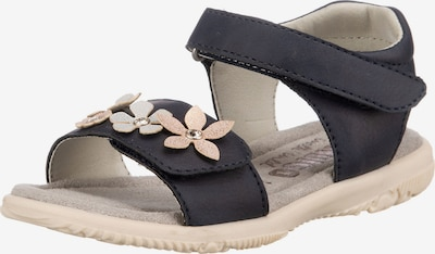 INDIGO Sandale in blau / grau / rosa, Produktansicht