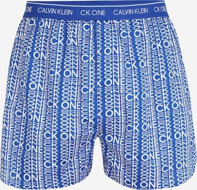 Calvin Klein Underwear Boxers en bleu roi / blanc, Vue avec produit