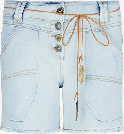 Isla Ibiza Bonita Jeans Short 'VADELA' in hellblau, Produktansicht