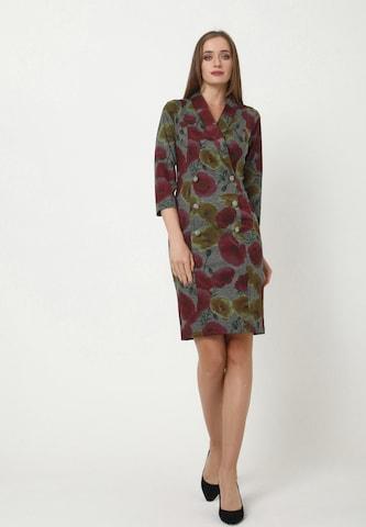 Madam-T Sheath Dress 'KONTATA' in Grey